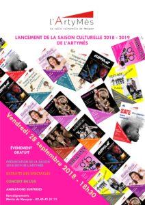 Soirée de lancement de la saison culturelle 2018-2019 de l'ArtyMès @ Salle l'ArtyMès   Mesquer   Pays de la Loire   France
