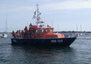 SNSM : balades en mer sur la vedette SNS 254 de La Turballe @ Mouillage de Lanséria | Mesquer | Pays de la Loire | France