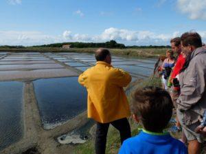 Visite de marais salants avec Nicolas ARNOULD, paludier @ Salorge de Rostu | Mesquer | Pays de la Loire | France